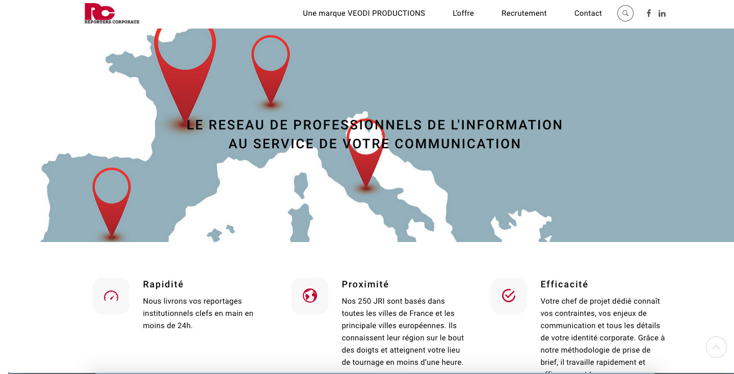 Conception de sites web wordpress RC