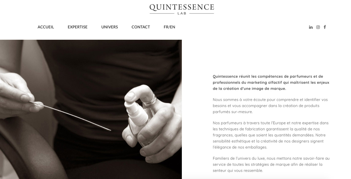 Conception de sites web wordpress quintessence-lab