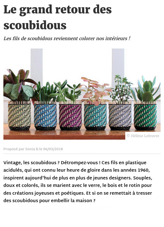 Article Deco.fr plantes place - communication éditoriale production de contenus